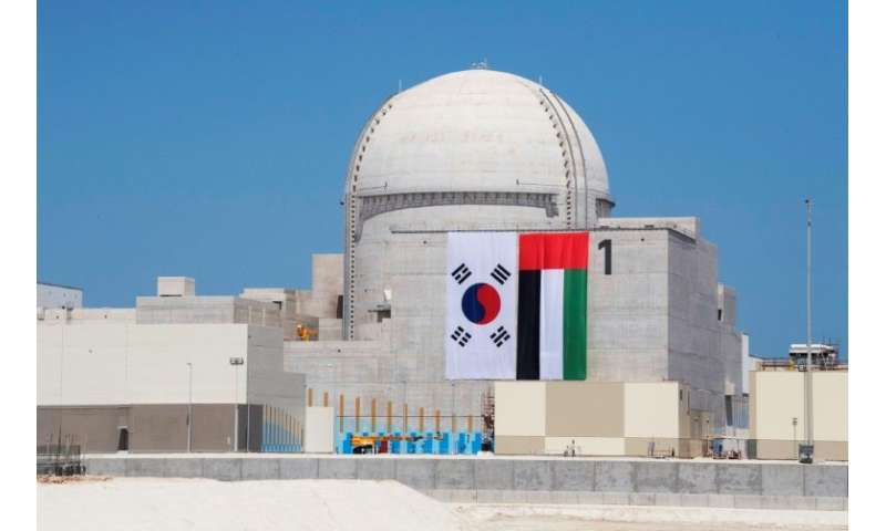 UAE further delays launch of first nuclear reactor