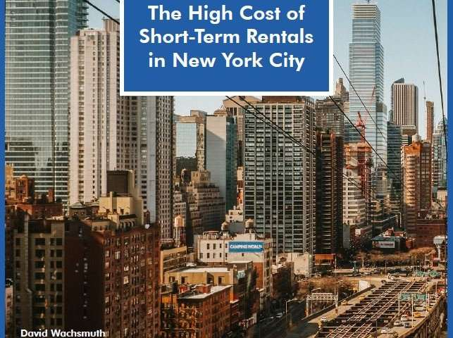 The high cost of short-term rentals in New York City