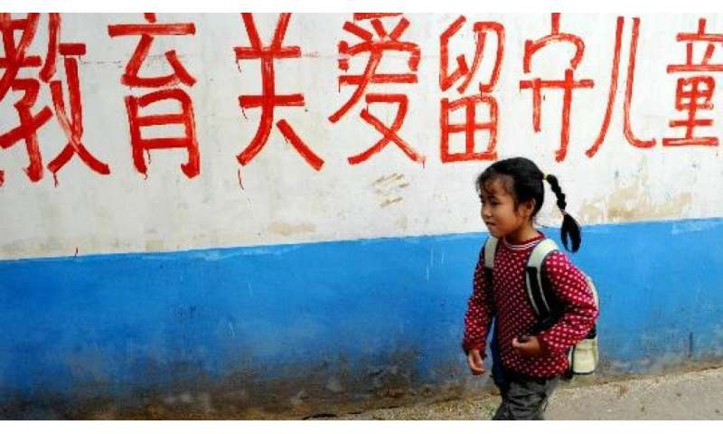 The impact of parental absence in rural China