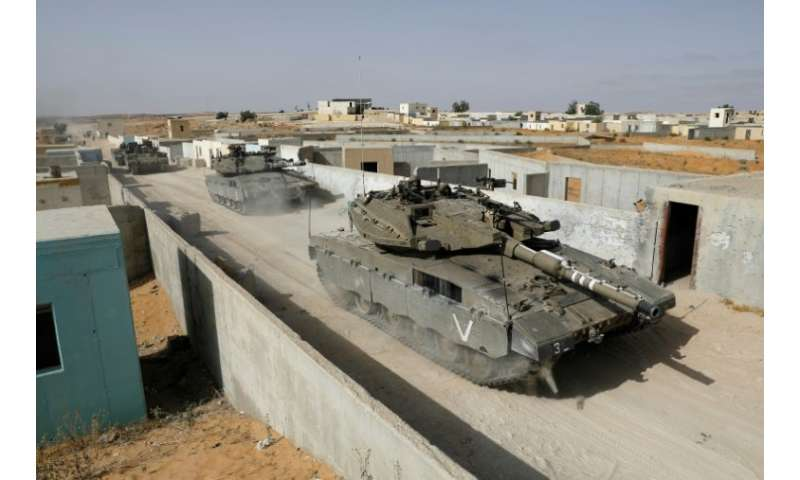 The Israeli army is developing a new battle tank for the Merkava series, similar to the one in use pictured on July 4, 2018, tha
