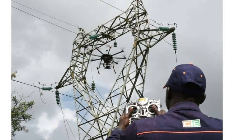 The Ivorian Electricity Company (CIE) is using drones to revolutionise the inspection of its infrastructure