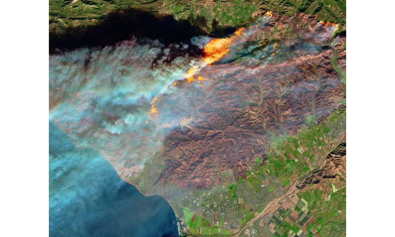 The key triggers of the costly 2017 wildfire season