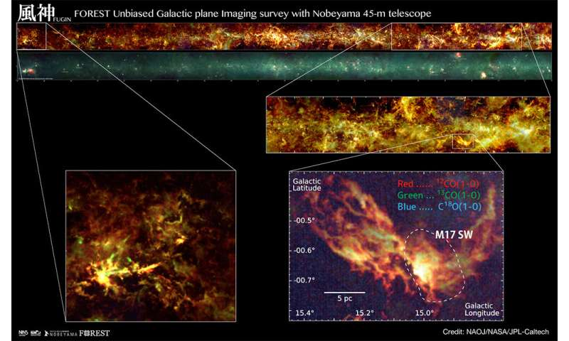 The most detailed radio map of the Milky Way