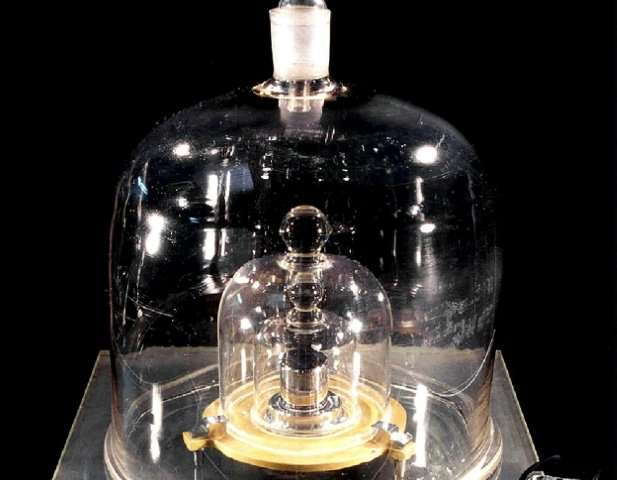 The physical object of what is a kilogramme is soon to be replaced by quantum calculations but the artefact hasn't yet finished