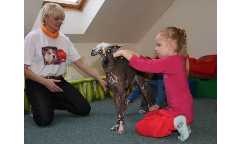 Therapy dogs for children with speech difficulties shows promising results