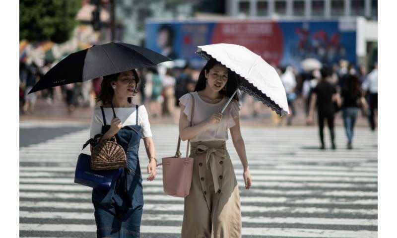 The record-breaking weather has revived concerns about the Tokyo 2020 Olympics, which will be held in two years time in July and