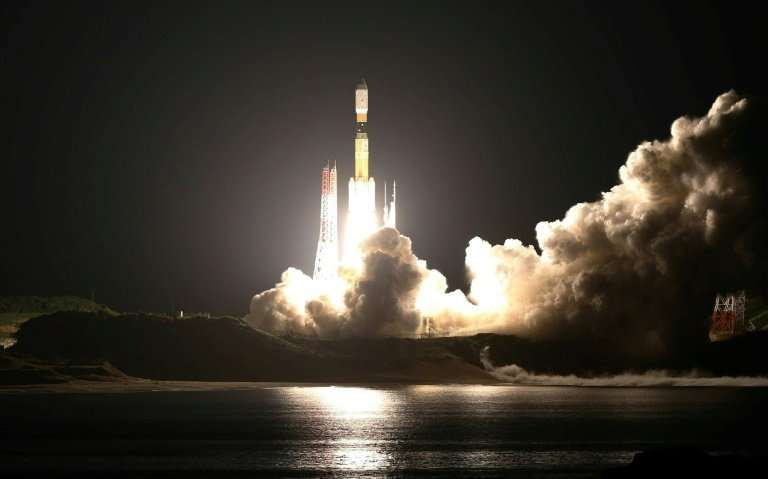 The space-elevator test equipment will be launched on a Japanese H-2B rocket next week
