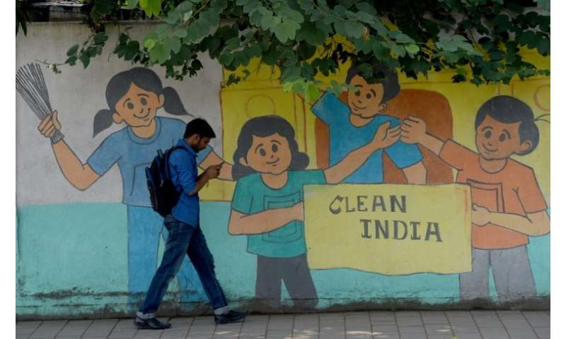 The 'Swachh Bharat Abhiyan' (Clean India Mission) wants to end open defecation entirely by October 2 2019, birthday of India's i