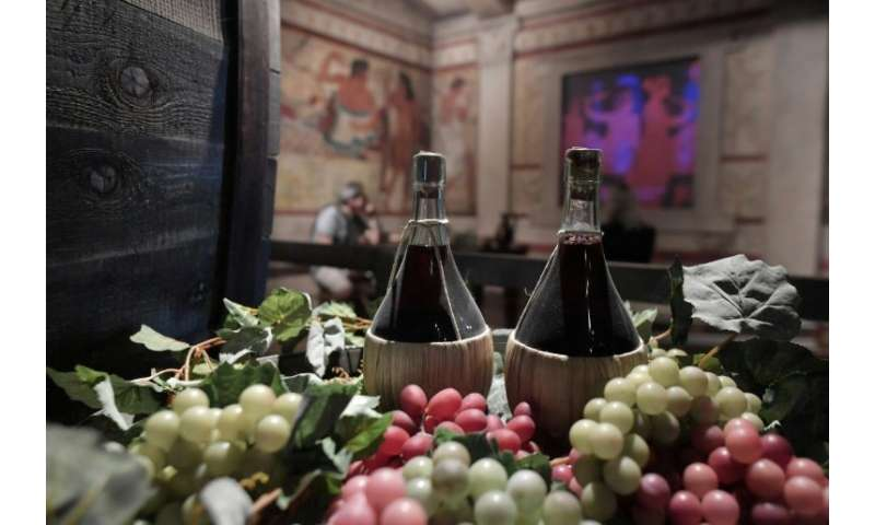 The wine museum in Bolgheri, Italy: a famous 2013 study on the benefits of the Mediterranean diet against heart disease had to b