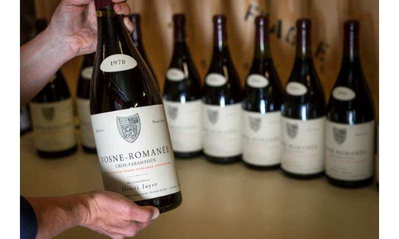 The wines to be auctioned include Cros-Parantoux Vosne-Romanee Premier Cru, which ranks among the world's priciest, and a host o