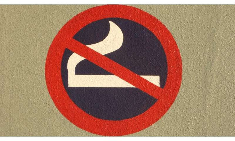 Third hand cigarette smoke not cause for panic