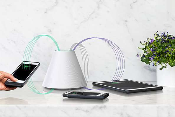 This pad-free wireless charger can power multiple devices at once
