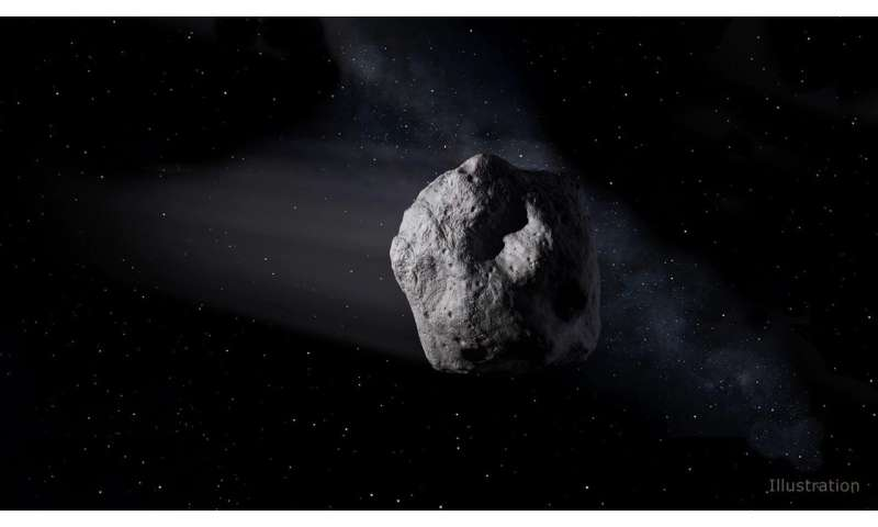 Tiny asteroid discovered Saturday disintegrates over Africa