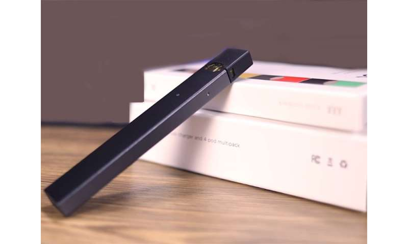Tiny juul device getting U.S. teens hooked on vaping