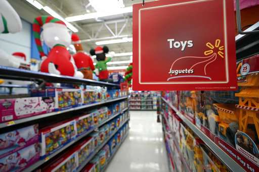 Top tot toys? Blocks and boxes backed over high-tech toys