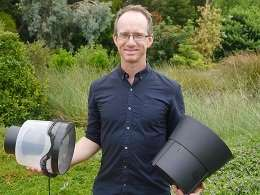 Trapping mozzies at home to detect disease