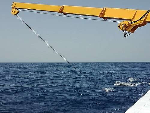 Trawl of Red Sea surface waters finds little plastic