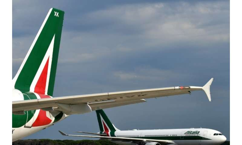 Troubled Italian carrier Alitalia has received three takeover offers as part of its latest rescue efforts, the company says
