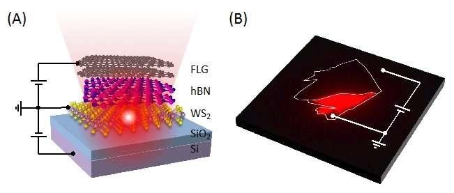 Ultra-thin light emitting diodes