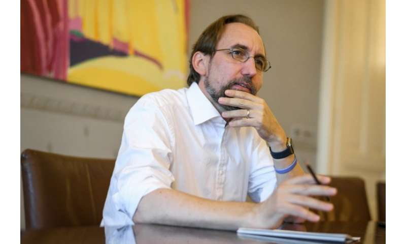 United Nations High Commissioner for Human Rights Zeid Ra'ad Al Hussein is due to step down from his post as UN High Commissione