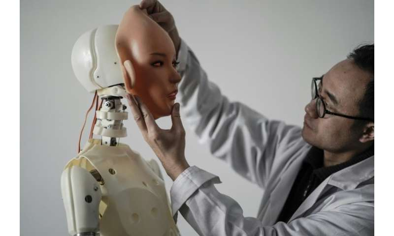 Users can control the $4,000 sexbot with a phone app or by giving it oral instructions