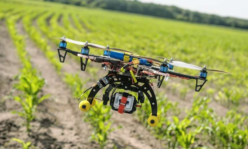 Using drones to feed billions