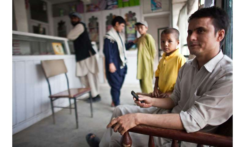 Using mobile money in Afghanistan, researchers develop product that helps people to save