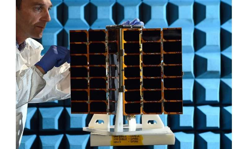 US satellite firm has built 80 satellites in Glasgow since 2014