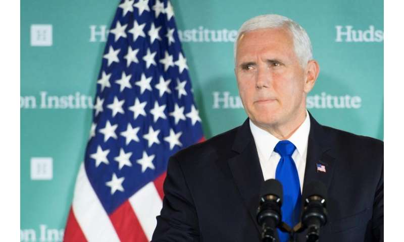 "US Vice President Mike Pence envisions a US ""Space Force"" by 2020, but not initially as a separate branch of the milit"