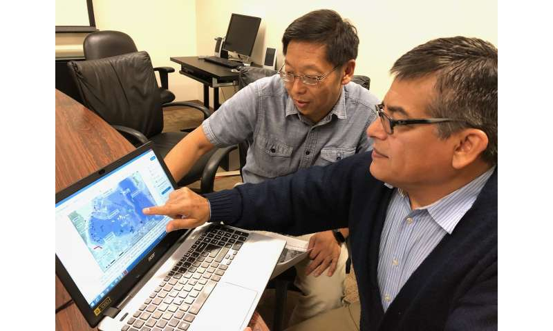 UTSA creates web-based open source dashboard of North Pole