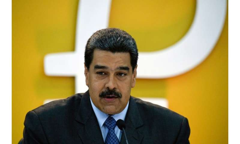 Venezuela's President Nicolas Maduro launched the oil-backed petro on February 20, putting 38.4 million units of the world's fir