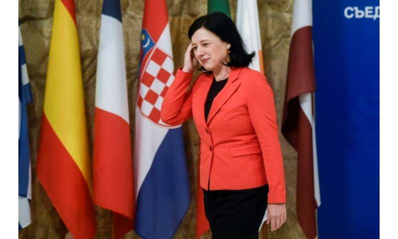 "Vera Jourova, EU Commissioner for Justice, Consumers and Gender Equality, said she is waiting ""impatiently"" for answer"
