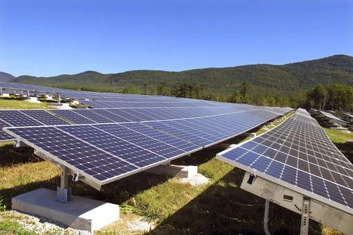 Vermont reduces incentives for renewable energy program