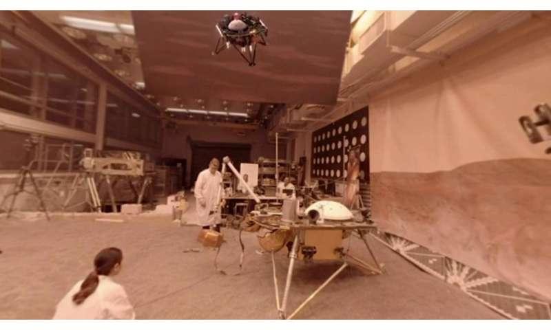 Video: Tour a Mars robot test lab