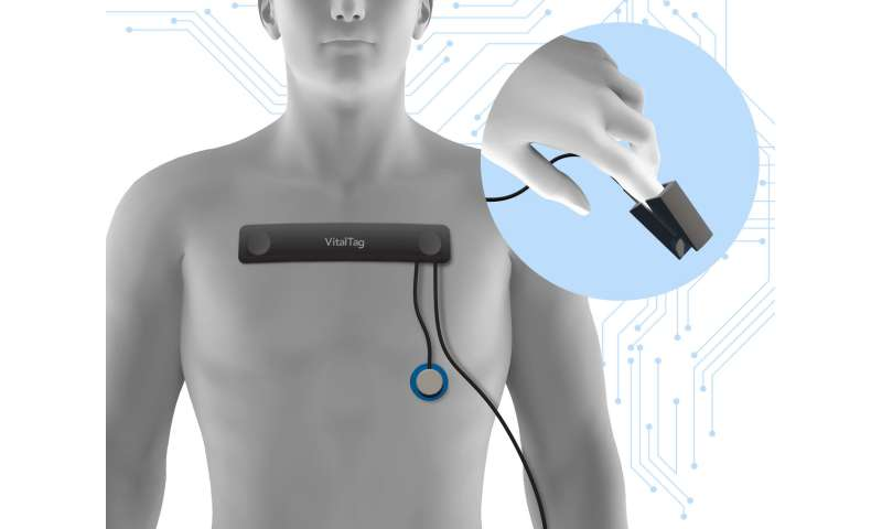 VitalTag to give vital information in mass casualty incidents