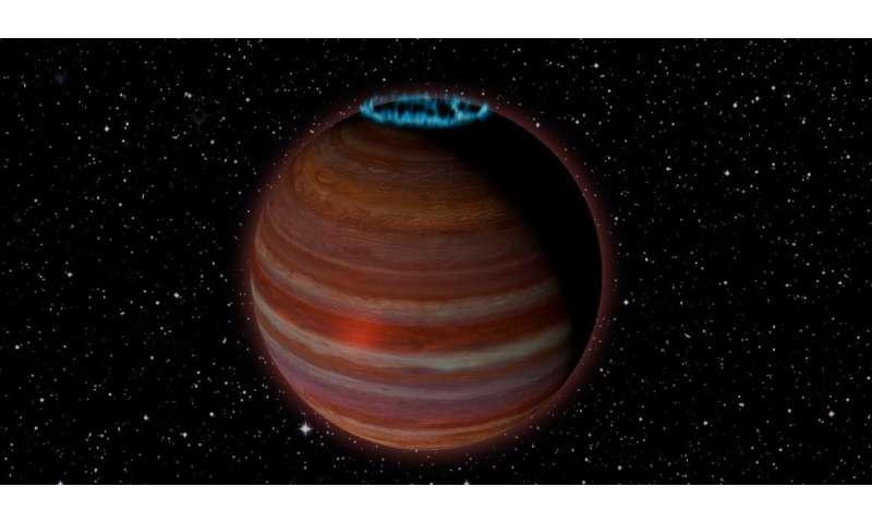 VLA detects possible extrasolar planetary-mass magnetic powerhouse