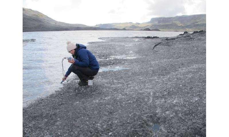 Volcanoes and glaciers combine as powerful methane producers