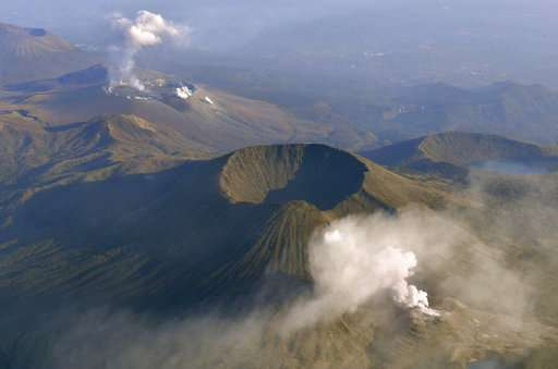 Volcano in southern Japan erupts for 1st time in 250 years