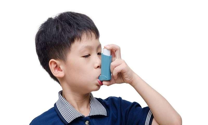Walkable neighborhoods might lower kids' asthma risk