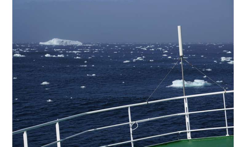 Warm summers could weaken ocean circulation