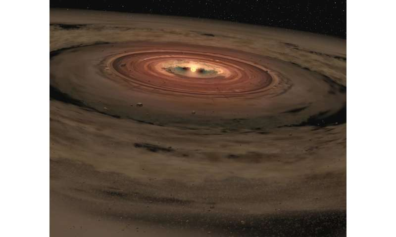 Water in small dust grains can explain large amounts of water on Earth