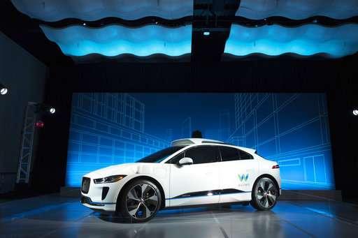 Waymo to buy 20,000 Jaguars for robotic ride-hailing service