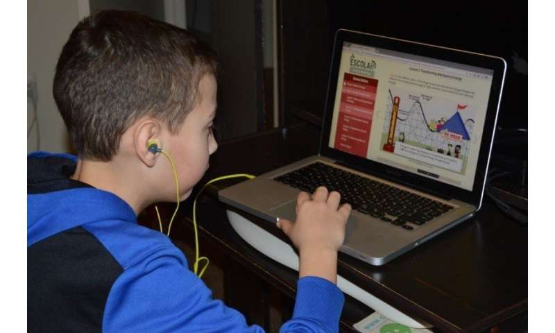 Web-based teaching can improve science understanding for struggling pupils