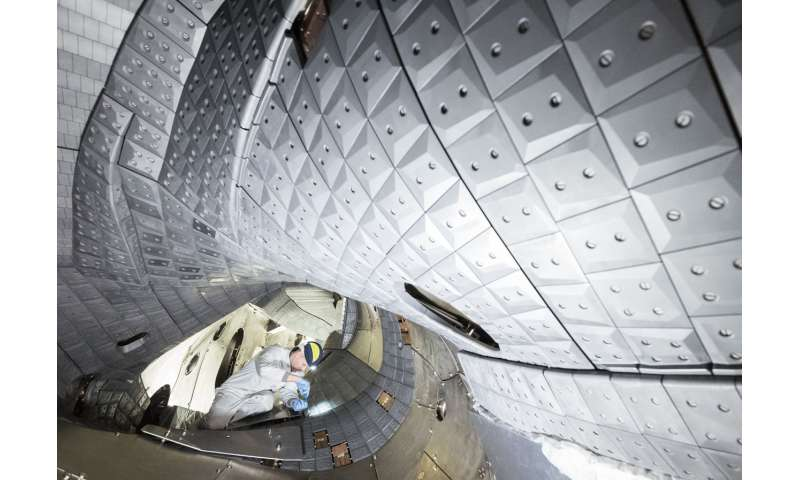 Wendelstein 7-X achieves world record for fusion product