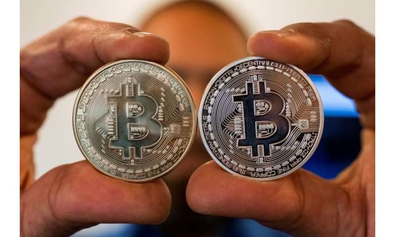 What a bitcoin, the most popular crypto-currency, might look like in the real world