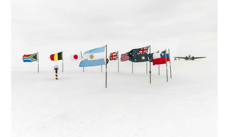 What any country can and can't do in Antarctica, in the name of science