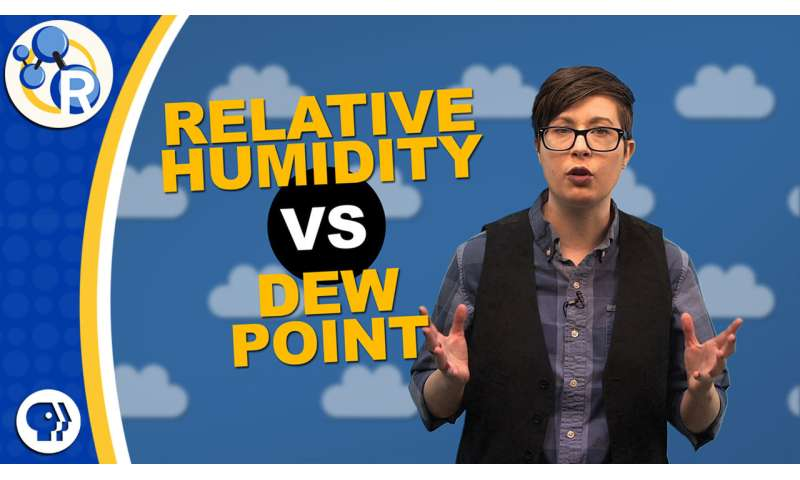 What's the difference between relative humidity and dew point? (video)