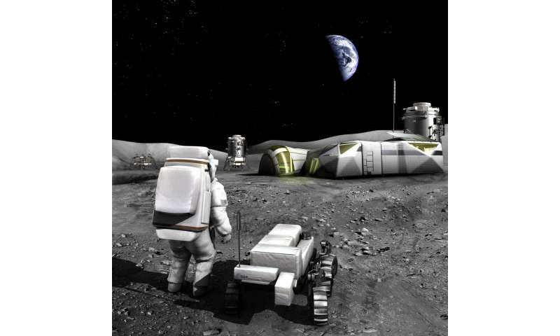 What's your idea to 3-D print on the moon – to make it feel like home?