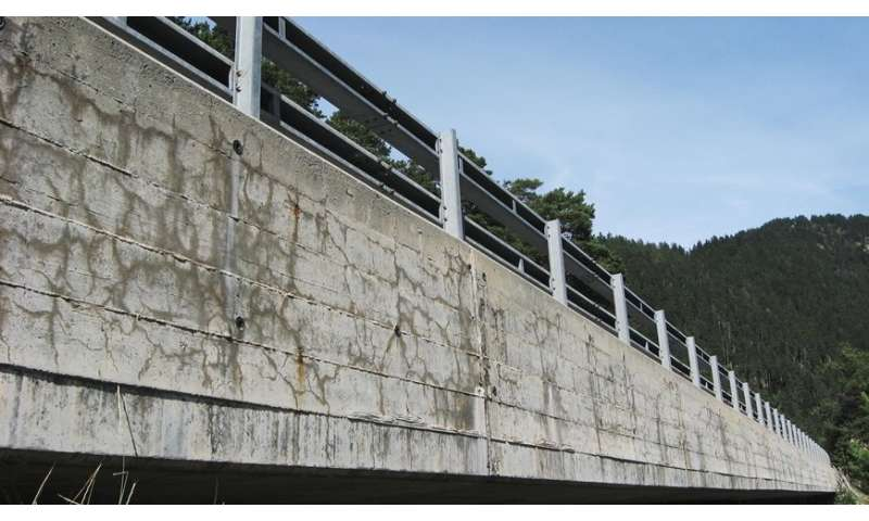 Why does concrete swell and crack?