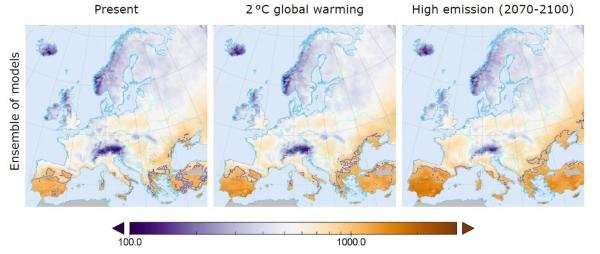 Wildfires set to increase: Could we be sitting on a tinderbox in Europe?